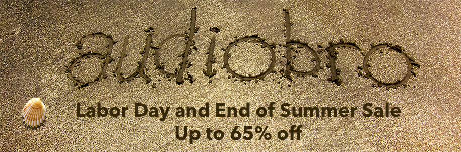 Audiobro End of Summer Labor Day Sale