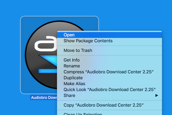 Audiobro Download Center